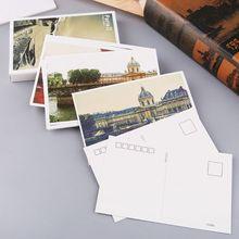 30 hojas invierno Sonata pinturas Retro Vintage postal navidad regalo tarjeta deseo póster tarjetas