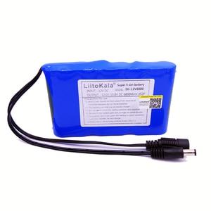 Image 3 - 12V 2200mah 3000mAh 6800mah 9800mah 10ah 18650 li lon DC 12V batterie Super Rechargeable