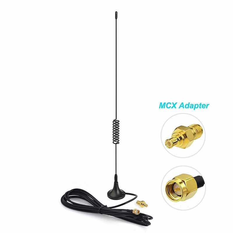 5DBi-1090MHz-Antenna-ADS-B-Modem-Router-SMA-Male-MCX-Male-For-FlightAware