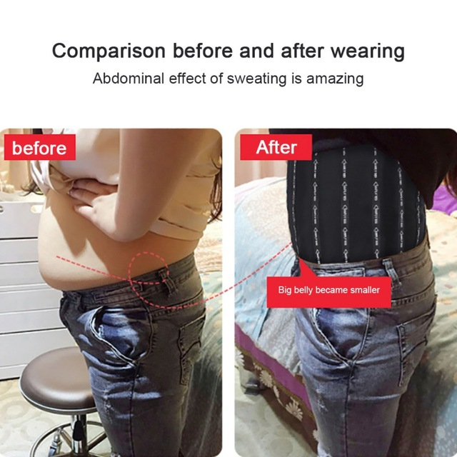 Women Body Shaper Waist Cinchers Back Support Sweat Crazier Slimming  Silver Ion Material Belt-Sport Girdle Belt For Weight Loss 5