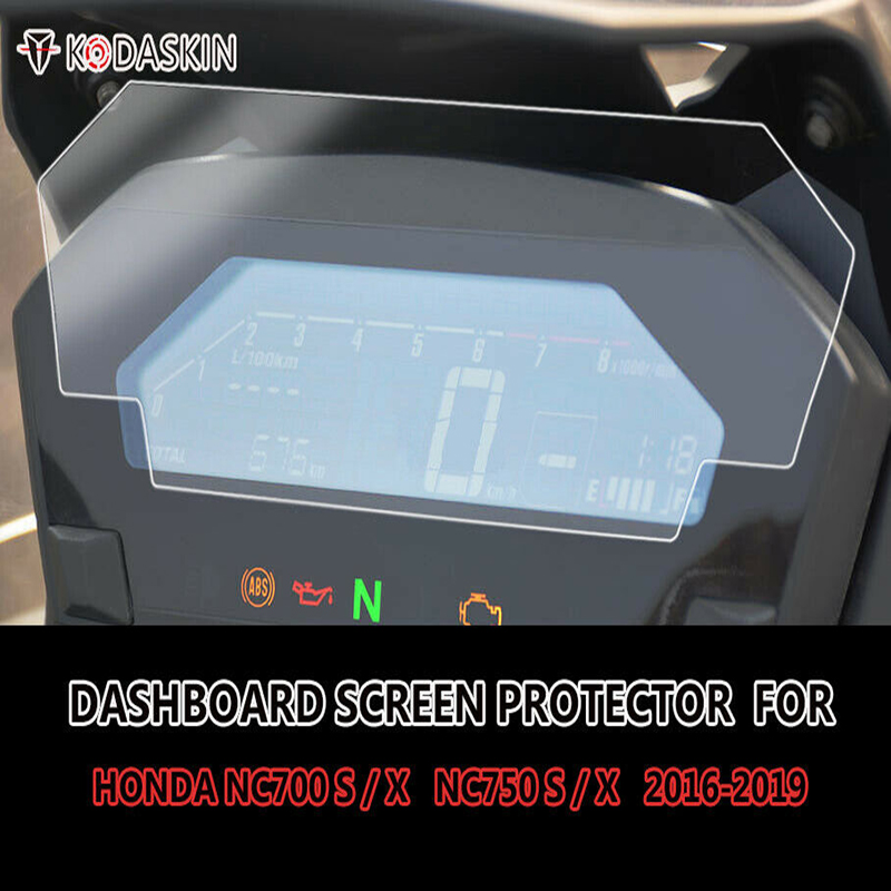 KODASKIN Motorcycle TPU Dashboard screen Instrument Protection Speedometer Protection for <font><b>NC</b></font> <font><b>700</b></font> 750 S X nc750s nc700s nc750x image