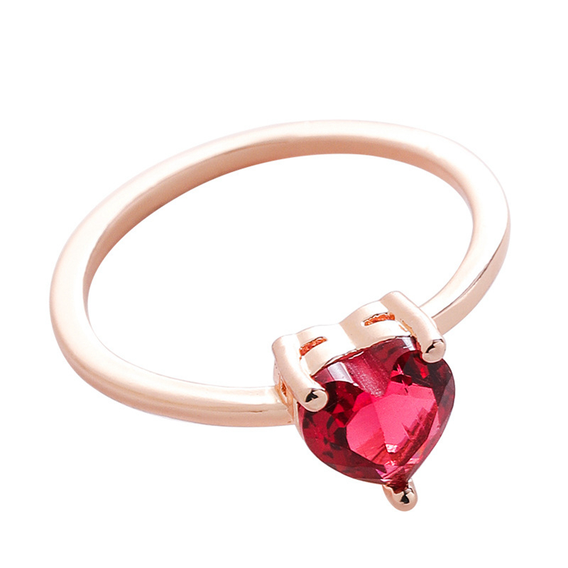 New Fashion Micro-inlaid Crystal Zircon Rings Sweet Elegant Flower Ring for Girl Women Finger Bague jewelry Bridal Gift Delicate