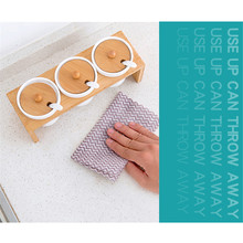50PCS/Pack Non-woven Kitchen Cleaning Cloth Disposable Rags Wiping Scouring Pad Dishcloth Bathroom Washing Cloth 100pcs bag size 6 inch x 6 inch superfine fiber cleanroom wipers non dust cloth lcd led pcb stencil wiping glasses wiping cloth