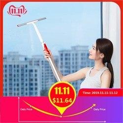 Original xiaomi mijia retrátil janela raspador rodo de vidro do carro mais limpo portátil 300mm raspadores kit limpeza banheiro casa