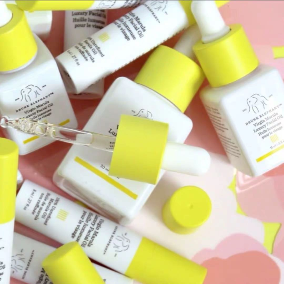 Drunk Elephant Virgin Marula Luxury Facial Oil - Vegan Anti-Aging Skin Care and Face Moisturizer primer 1