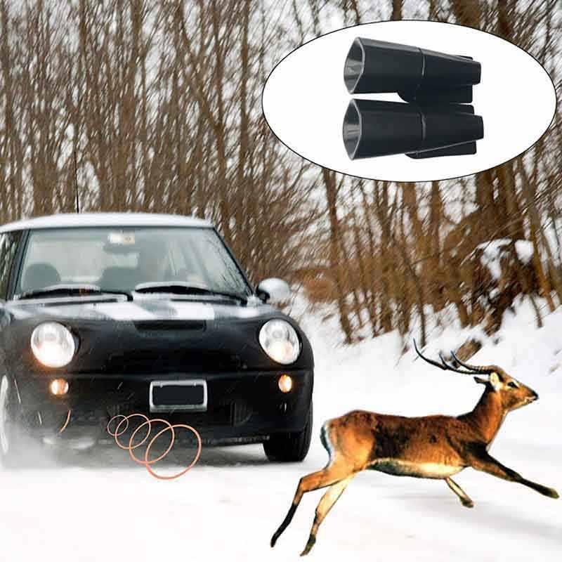 2 Pcs Deer Warning Whistles Device for Car Save Deer Whistle Animals Alert