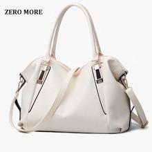 ZERO MORE Designer Women Handbag Female PU Leather Bags Handbags Ladies Portable Shoulder Bag Office Ladies Hobos Bag Totes недорого