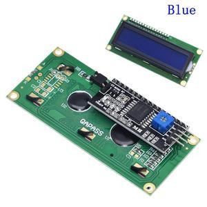 Image 2 - LCD module Blue Green  screen IIC/I2C 1602 for arduino 1602 LCD UNO r3 mega2560 LCD1602
