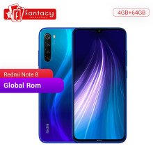"Nuevo ROM global Xiaomi Redmi Note 8 4GB 64GB 48MP Quad Cámara Smartphone Snapdragon 665 Octa Core 6,3 ""FHD pantalla 4000mAh(China)"