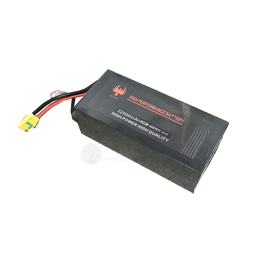JMRRC <font><b>6S</b></font> 22.2V 20C <font><b>22000mAh</b></font> Drone <font><b>Lipo</b></font>-Battery XT90 plug for Agricultural drone, Industrial application drone image