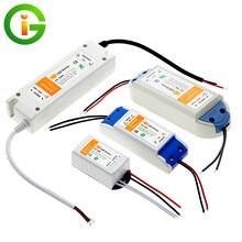 Светодиодный драйвер 12 В постоянного тока 18 Вт 36 72 100 высококачественные