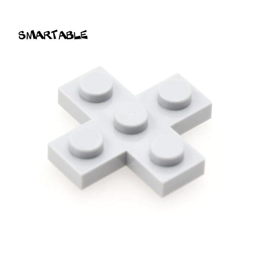 Smartable Plate Special 3x3 Cross Plate Building Blocks MOC Parts Toys For Kids Compatible 15397 City 50pcs/lot
