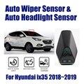 Умная автомобильная система поддержки вождения для hyundai ix 35 ix35 2018 ~ 2019 автоматический датчик стеклоочистителя и датчики фар