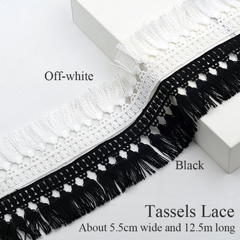 free shipping Tassel Fringe Lace Trim DIY Accessories Decoration Material Lace  for Dress Skirt Curtain Home Wedding decoration lace trim insert metallic dress