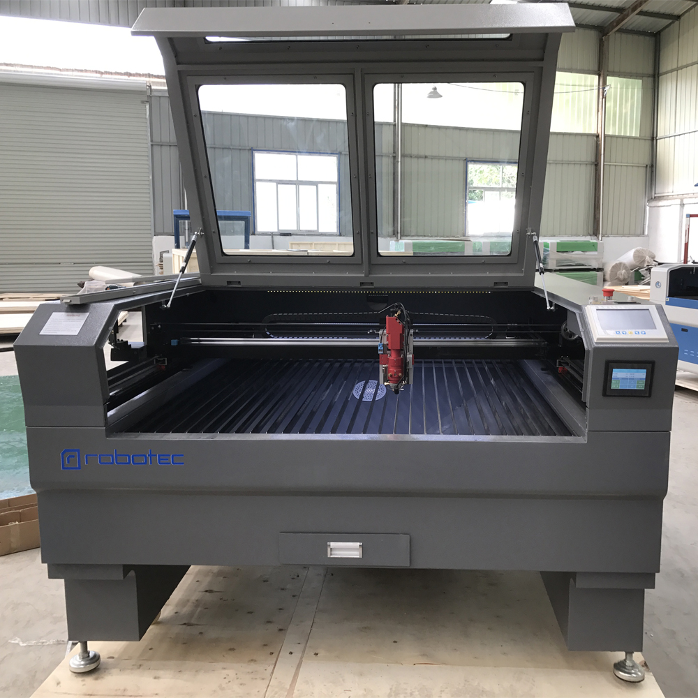 ROBOTEC Cnc Laser Cutting Machine 180w Co2 Laser Cutting Machine Metal For Mild Steel 1390 1325 Laser Cutter Engraver
