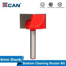 XCAN 1 шт. 28 мм триммер для дерева, гравировальные бруски для нижней очистки 6 мм хвостовик фрезерный станок с ЧПУ фрезерный станок по дереву