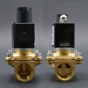 """Image 5 - solenoid valve water normally close brass valves 220V12V24V air water gas solenoid valve 1/4"""" 3/8"""" 1/2"""" 3/4"""" 1"""" 2"""""""