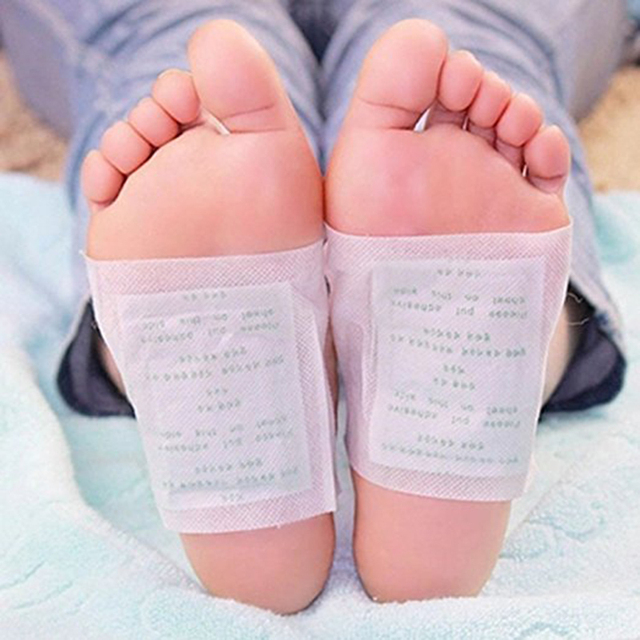 10pcs / Bag Slimming Foot Patches Detox Foot Patch Mask Relieve Fatigue Remove Toxin Foot Help Sleep Skin Care Pads Sticky TSLM1 3