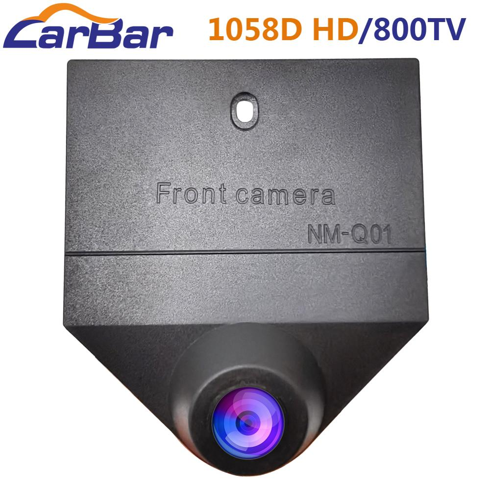 Carbar Car Front View Camera Waterproof HD Image Night Vision 1058D Chip 800TV Lines