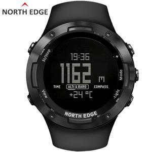 Digital Watch Barometer North-Edge Running Compass Military Army-Hours Swimming-Sports