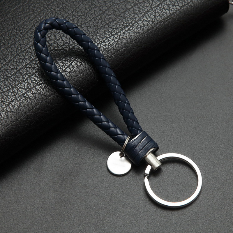 Car Key Chain For Motorcycles Scooters and Cars Key Fobs Leather Rope Key Ring Leather Car Key Chain Men and Women Small Gifts|Key Rings| |  - title=