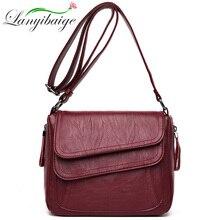 Kadın çantası bolsas feminina kadın deri askılı çanta tasarımcı omuzdan askili çanta yüksek kaliteli Crossbody çanta kesesi ana femme çanta