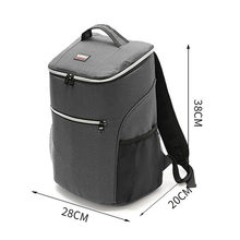 New Thicken Large Cooler Bag Portable Big Insulated Bags Thermal Backpack Delivery Bag Organizer Ice Pack Waterproof Food Bags(China)