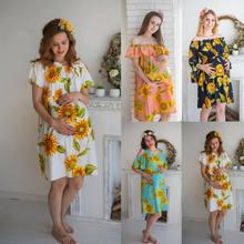 NOVAS Mulheres Estilo Boho Vestido Fora Do Ombro Flor da Praia do Verão Vestido Floral da Cópia Do Vintage Vestido Maxi Vestido De Festa