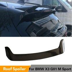 Dla BMW X3 G01 baza i M Sport nie dla X3M 2018 2019 czarny błyszczący malowane tylny spojler dachowy tylny spojler