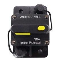 30-300 AMP manuel sıfırlama IP67 devre kesici 12-48V araba tekne otobüs sigorta güç koruma