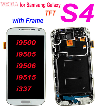100% tested 5.0 LCD For Samsung Galaxy S4 LCD Display i9500 i9505 i9506 Touch Screen Digitizer Assembly with Frame Replacement 100% tested original lenovo s90 lcd display touch screen digitizer pannel assembly with frame replacement s90 t s90 u s90 a tool