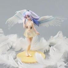 Janpan anime anioł bije Tachibana Kanade 15cm figurka Model z pcv zabawka do dekoracji Anime figurka anioła prezenty dla dziewczyn