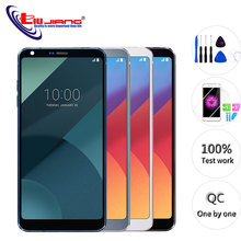 Original 5.7 IPS For LG G6 H870 H871 H872 LS993 VS998 Touch Screen Digitizer Assembly With Frame LCD Display