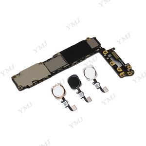 Image 4 - עבור iphone 6 4.7 אינץ האם עם מגע מזהה, 100% מקורי סמארטפון עבור iphone 6 mainboard + מלא שבבים, 16GB 64GB 128GB