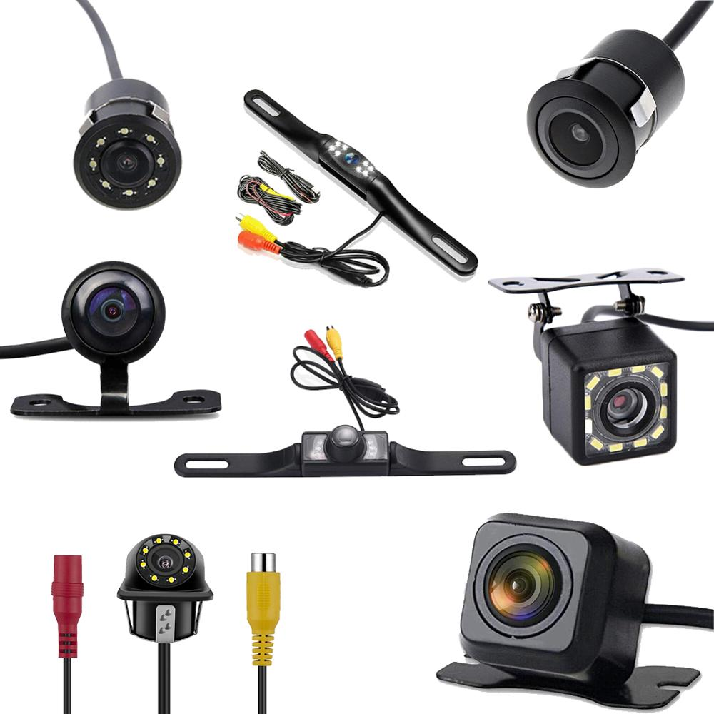 Different Kinds NEW 170 Degree Car Rear View Camera 4 LED Night Vision Reversing Auto Parking Monitor CCD Waterproof HD Video