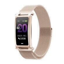 F8 Bluetooth Fashionable Bracelet Multiple Sports Mode 24H Blood Pressure Heart Rate Monitor IP68 Waterproof Smart Band