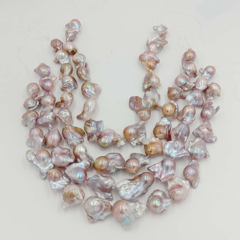 pearl beads,100% Nature freshwater loose pearl with baroque shape, BIG VIOLET BAROQUE shape pearl .16-24 mm,nice nature color