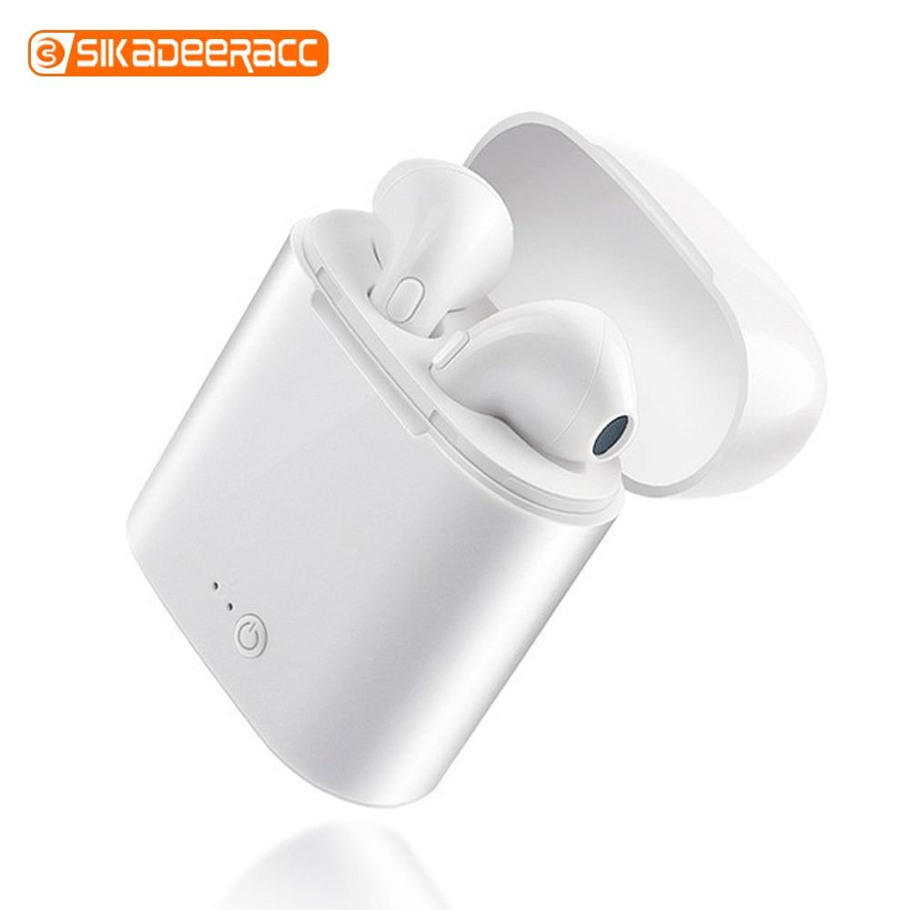 I7s TWS écouteur sans fil Bluetooth écouteurs Sport écouteurs casque avec boîte de charge pour iPhone Xiaomi Samsung Huawei téléphones