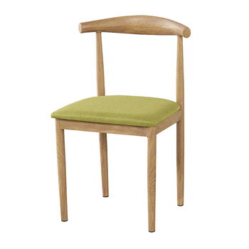 Dining Chair Household Horn Chair Stool Back Table and Chair Modern Simple Restaurant ins Back Chair Nordic Imitation Solid
