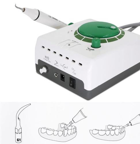Nettoyage à ultrasons dents maison auto détartreur soins dentaires détartrage Plaque de nettoyage tartre + 5 pointe - 3