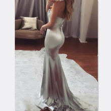 Summer Formal Dresses HOT Women Sleeveless Strapless Skinny High Waist Sequined Patchwork Long Dress