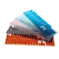 Abs 104 키 투명 keyscaps 다양한 색상 선택 체리 mx 기계식 키보드 키 캡 스위치 드롭 선박