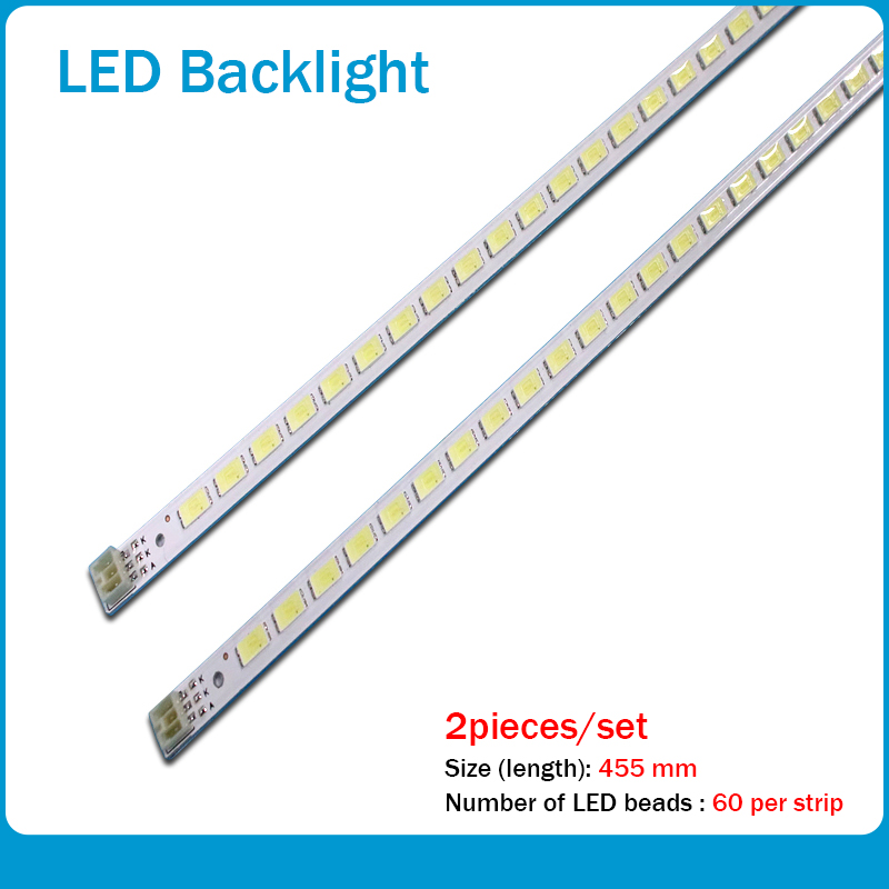 455mm LED Backlight Lamp Strip 60/62 Leds For LJ64-03567A SLED 2011SGS40 5630 60 H1 REV1.0 L40F3200B LJ64-03029A LTA400HM13