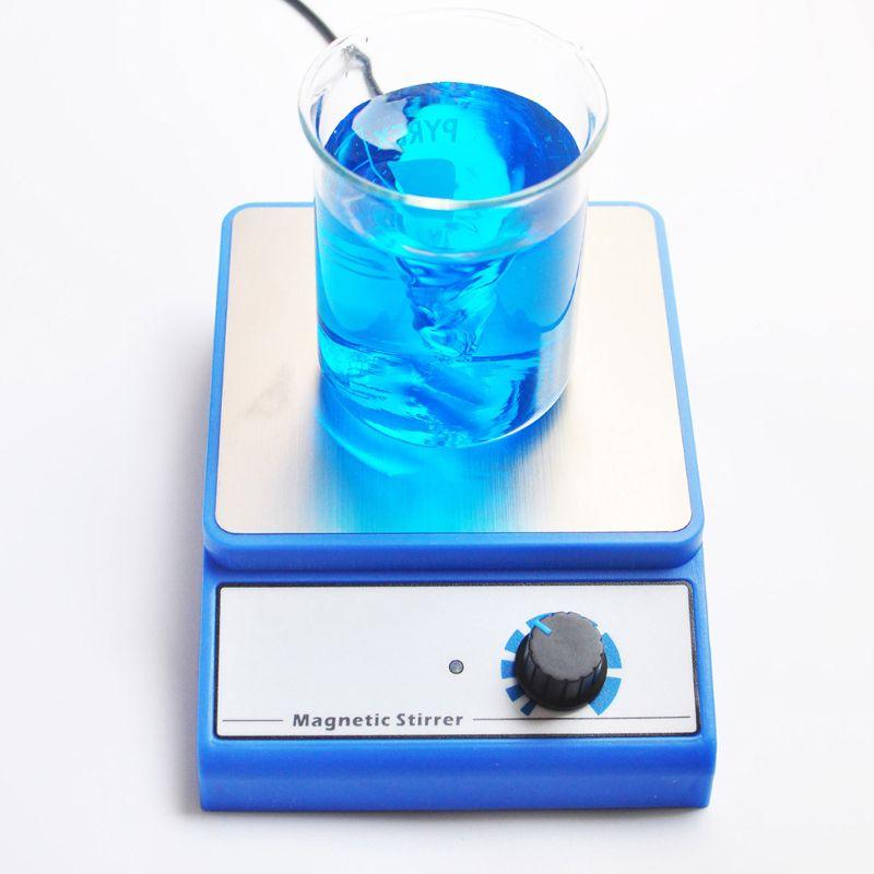 Magnetic Stirrer Mixer Blender Machine With Stir Bar Laboratory 3000ml Capacity Maximum Stirring 3000rpm EU Plug