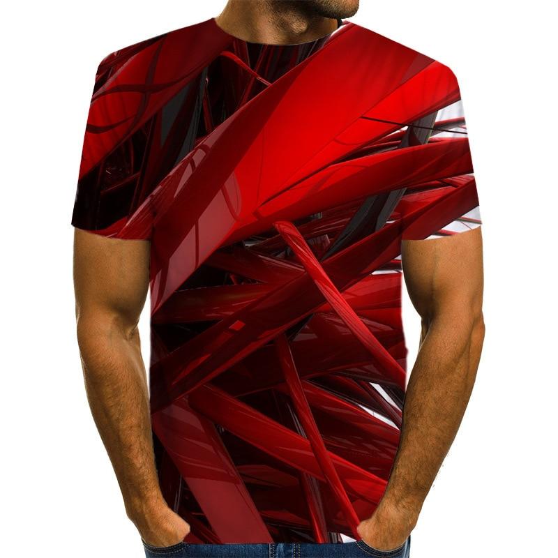 Мужская футболка с 3D принтом, новинка, брендовая футболка с коротким рукавом, Мужская забавная футболка в стиле Харадзюку, облегающая футболка в стиле хип-хоп, уличная футболка, Homme