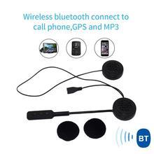 MH01 Bluetooth 5.0 şarj edilebilir eller serbest motosiklet kulaklık kask kulaklık motosiklet elektrik aksesuarları