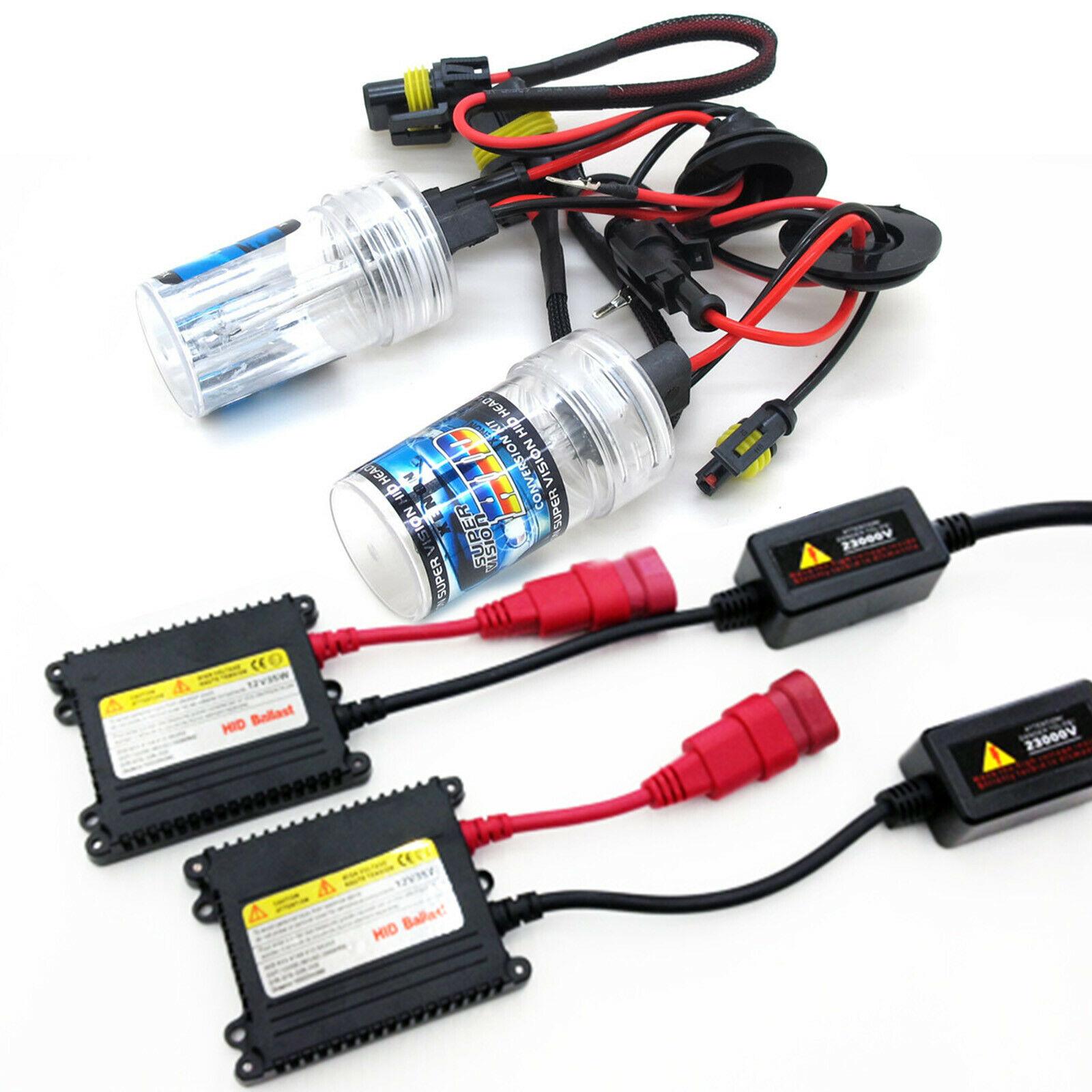 HID Xenon Lights Kit H1 H3 H7 H8 H9 H10 H11 H16 9005 9006 HB3 HB4 35W Slim Ballast 4300K 5000K  6000K  8000K  10000K 12000K