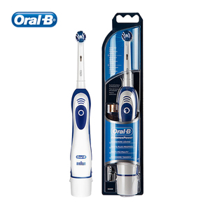 Image 5 - Oral B Electric Toothbrush 7600s Rotating Precision Clean Battery Type Sonic Toothbrush for Adult with Travel Case