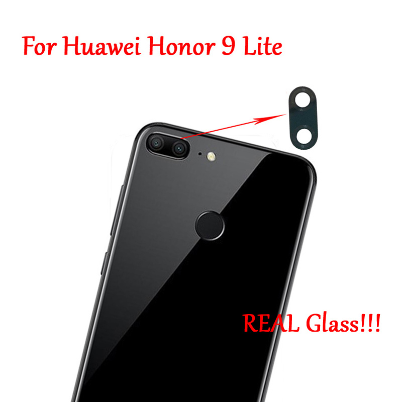 2PC 100% New Original Rear Back Camera Glass Lens Cover With Adhesive For Huawei Honor 9 Lite Fast Ship