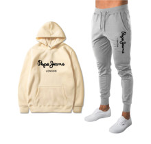 New Sweatpants and hoodie Tracksuit Men Hooded Sweatshirt+pants Pullover Hoodie Sportwear Suit Casual Men Clothes 2 Pieces Sets